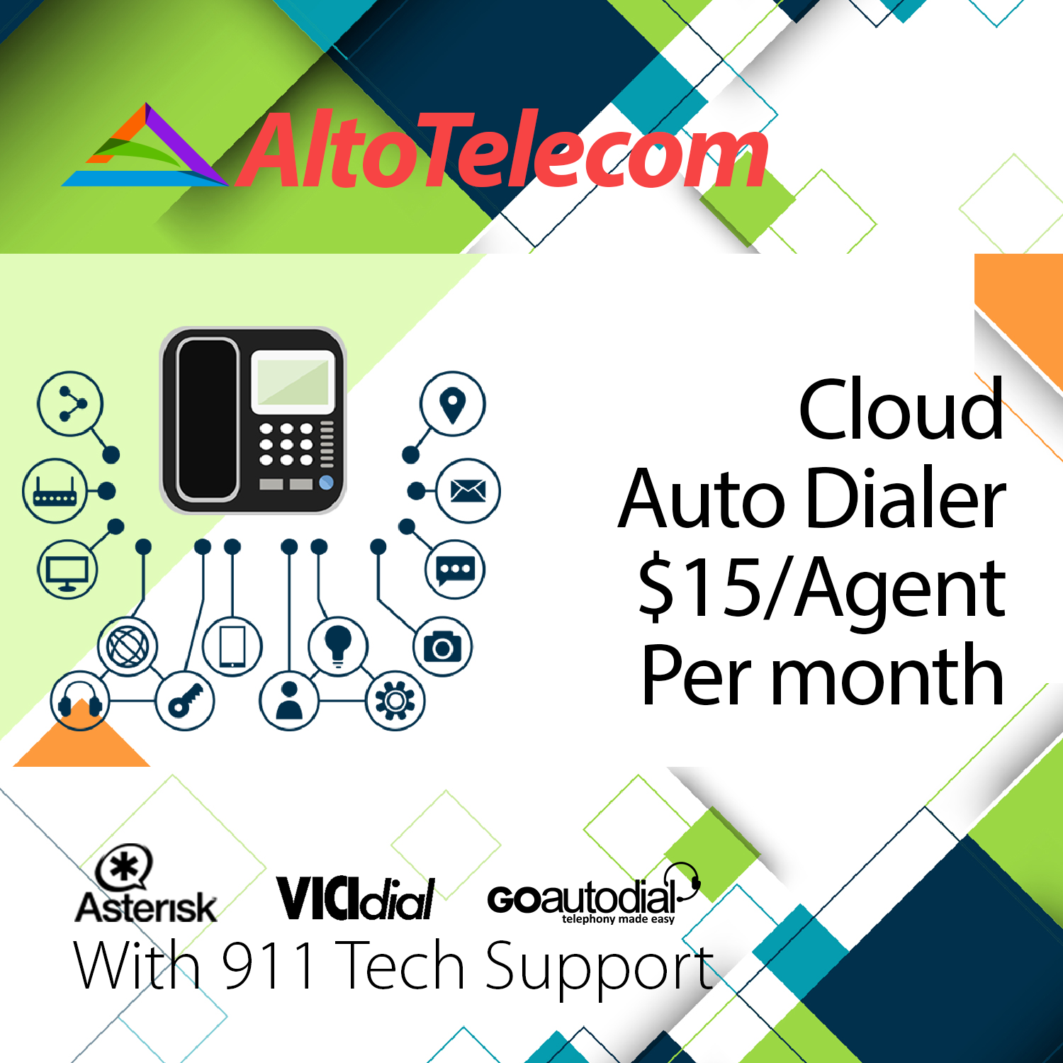 Cloud Auto Dialer Vicidial