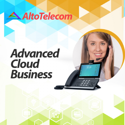 Advanced cloud business VoIP